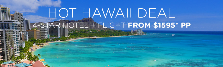 Hawaii package holiday deals for Hawaii home packages